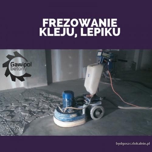 Usuwanie subitu, usuwanie lepiku -Frezowanie betonu Bydgoszcz